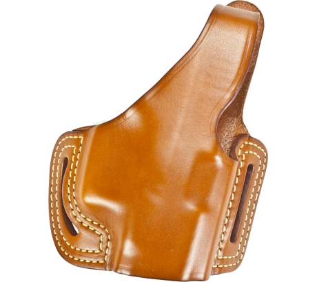 Blackhawk Leather Slide w Thumb Break Holster, Right Hand For Glock 17  19  22 by BLACK HAWK PRODUCTS