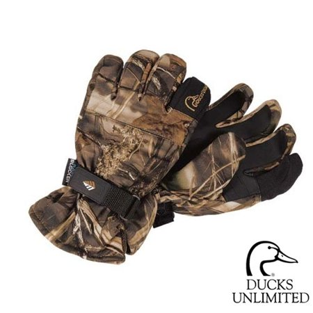Ducks Unlimited Rainblocker Shooting Gloves (2X)-