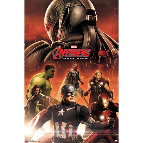 Avengers 2 Age of Ultron Avengers Team Film Movie Poster 22x34