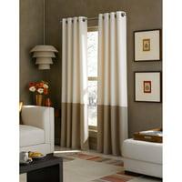 Colorblocked Grommet Curtain Panel