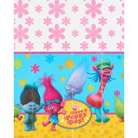 "Trolls Plastic Table Cover, 54"" x 96"""