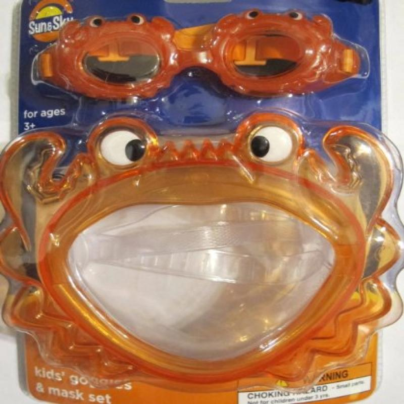 Sun & Sky Kid's Goggles & Mask by