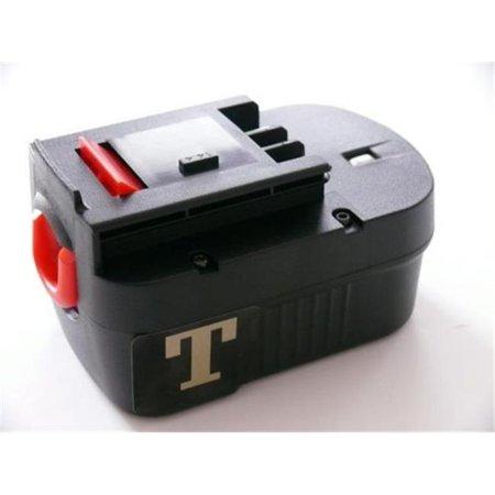 - Tank BD-1444N-829 14. 4 V Slide Type Battery 2100m AH Ni-MH Replace Decker Tool, Black