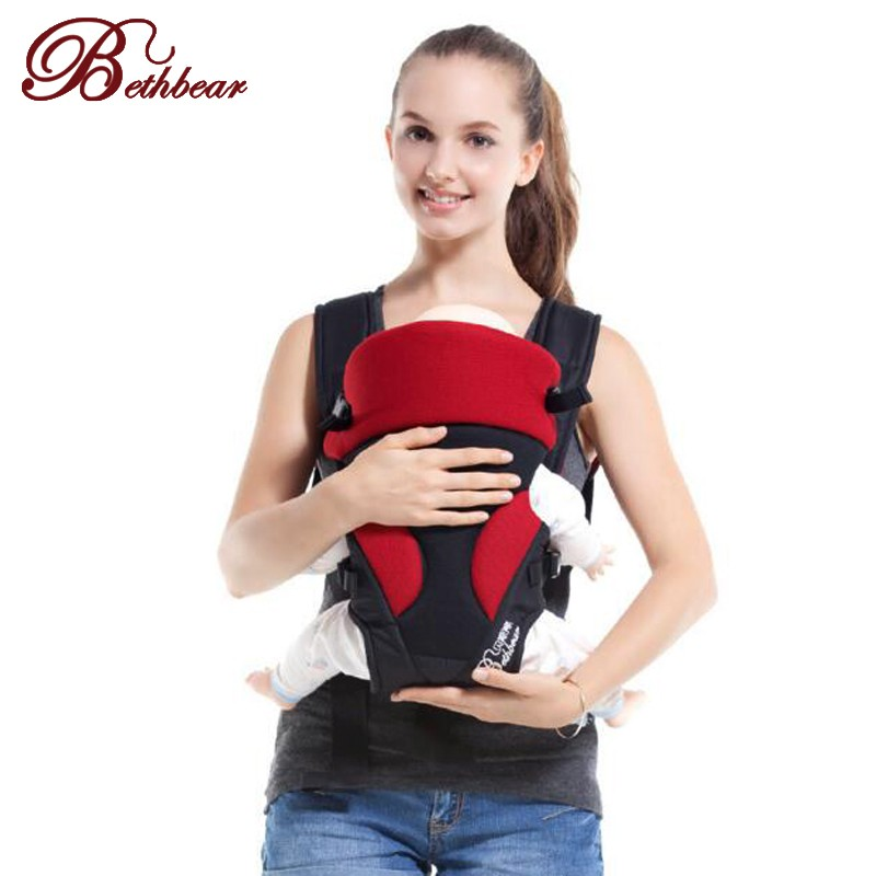 New Born Baby Carrier Comfort Baby Sling Fashion Mummy Child Sling Wrap Bag Infant Carrier by VirtualStoreUSA.com