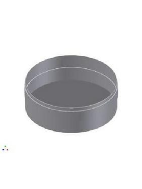 3'' VFT Stainless Steel Tee Cap