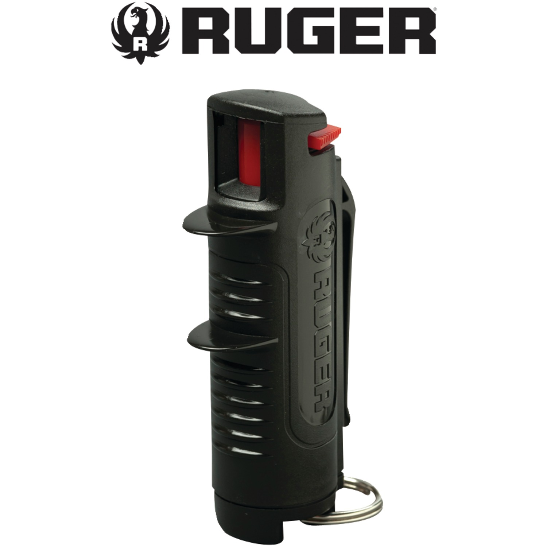 Ruger RPC093 Pepper Spray Armor Case, Black
