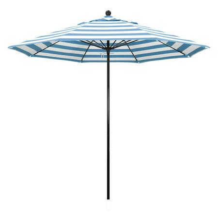 California Umbrella 9 Ft Complete Fibergl Sunbrella Market