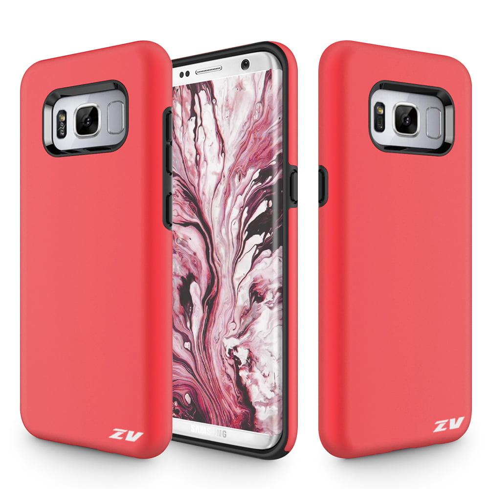 Samsung Galaxy S8 / S8 Plus Case, Zizo SLEEK HYBRID Heavy Duty Case - Protective