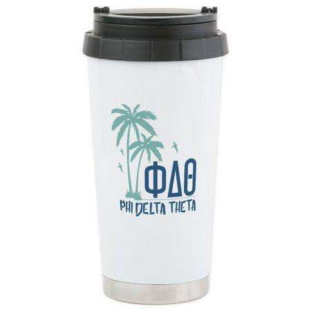 CafePress - Phi Delta Theta P - Stainless Steel Travel Mug, Insulated 16 oz. Coffee Tumbler