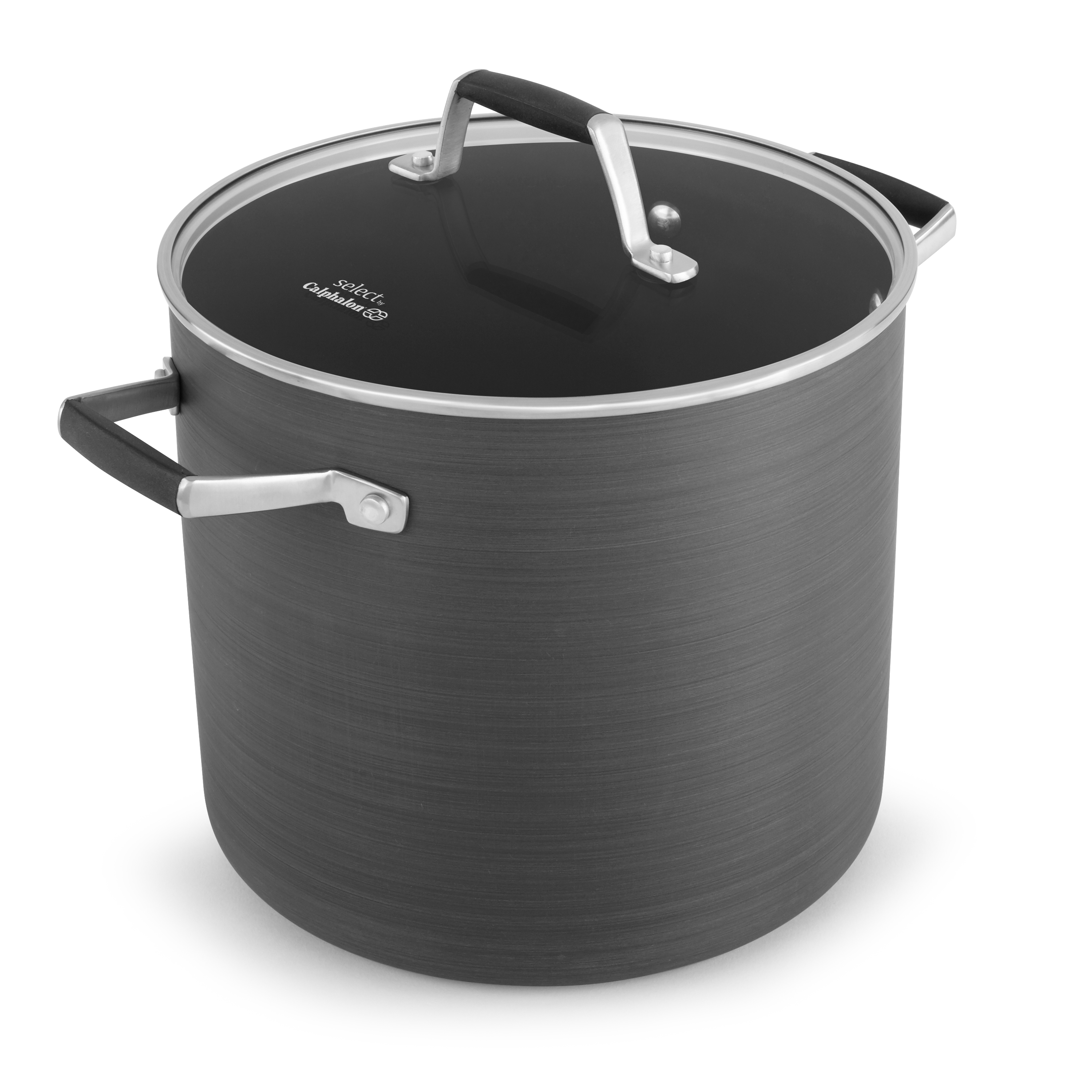 Calphalon Select 8 Quart Non-Stick Stock Pot with Cover, 1 Each