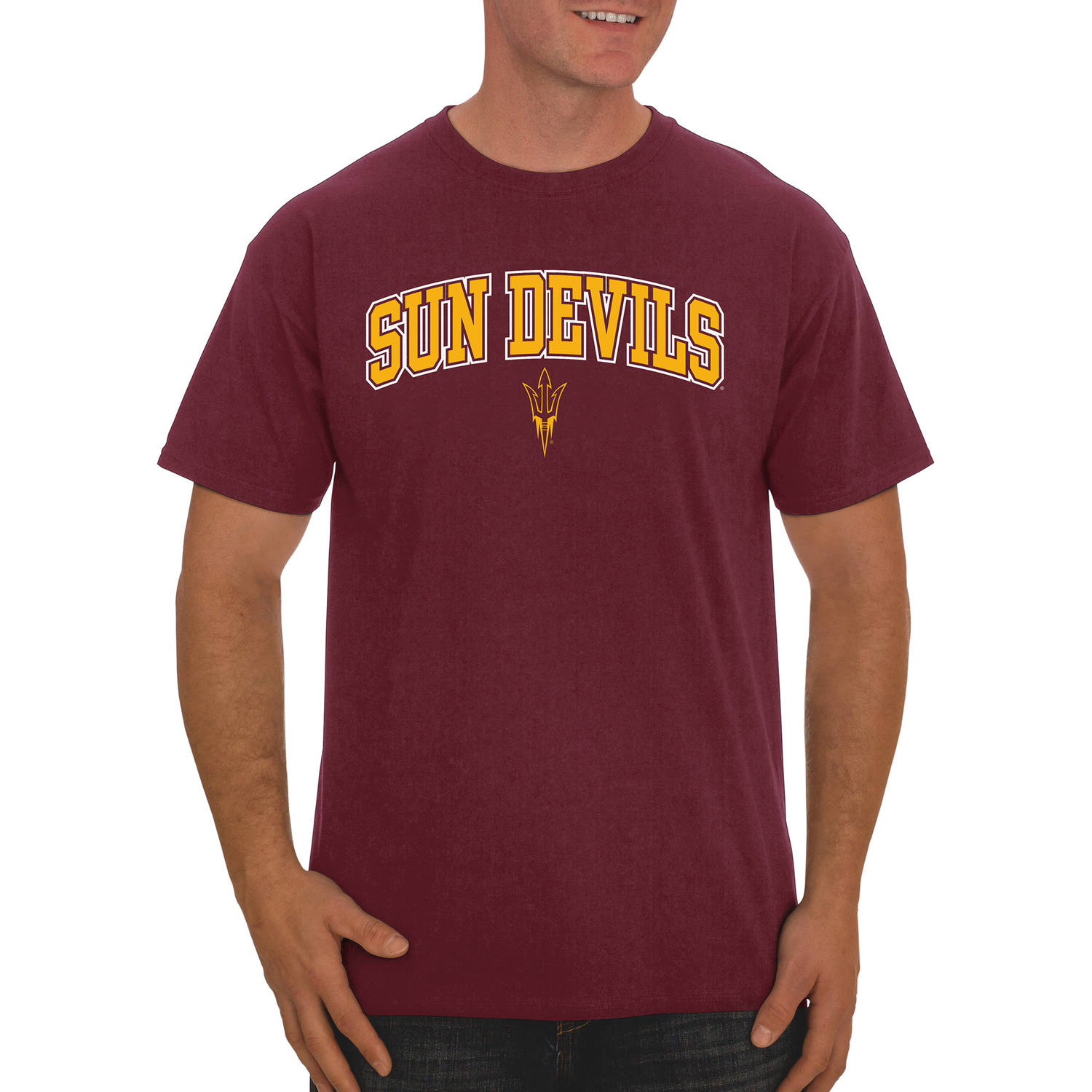 NCAA Arizona State Sun Devils Men's Classic Cotton T-Shirt