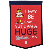 """St. Louis Cardinals 12"""" x 18"""" Lil Fan Traditions Banner - No Size"""