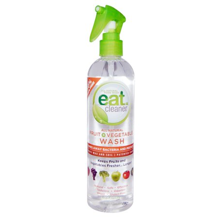 Eat Cleaner, All Natural Fruit + Vegetable Wash, 12 fl oz(pack of