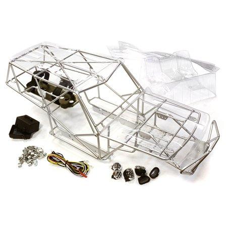 Integy RC Toy Model Hop-ups C26338SILVER Realistic T3 Steel Roll ...