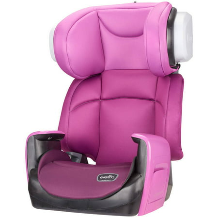 evenflo spectrum high back booster seat poppy pink. Black Bedroom Furniture Sets. Home Design Ideas