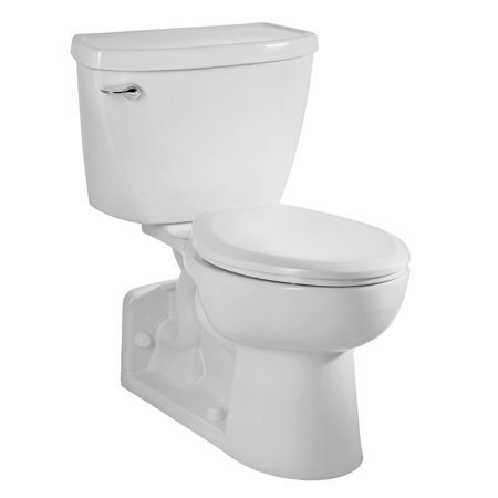 Ada Elongated Pressure Assist (American Standard 2876.016.020 Yorkville Elongated Pressure Assisted 1.6 GPF Two-Piece Toilet, Available in Various)