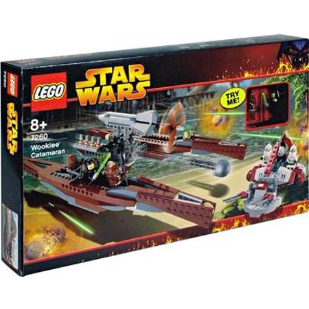 Lego star wars revenge of the sith wookie catamaran set - Lego star wars 1 2 3 4 5 6 ...