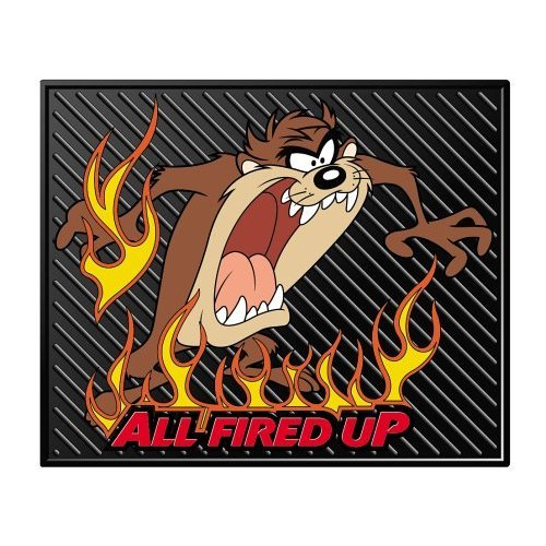 Taz All Fired Up Molded Utility Mat- 14""