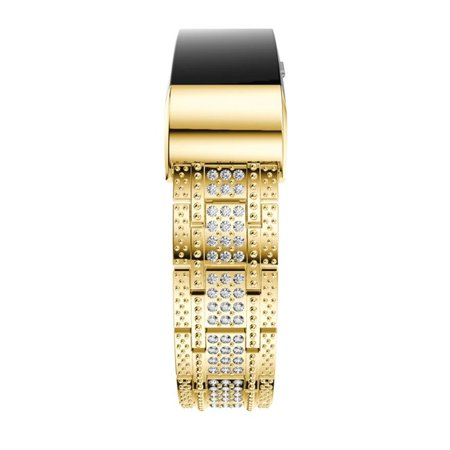 HC-TOP DiamondMetal Bracelet Watchband Replacement Watchband Rhinestone Comfortable - image 3 of 7