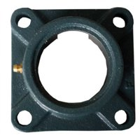 "Cast Flange Housing, 4 Bolt, 1-1/4"" - 1-7/16"""