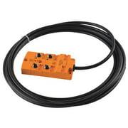 IFM EBC015 Sensor Wiring Block,4 Pin,Receptacle
