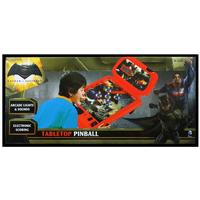 Batman vs. Superman Table Top Pinball