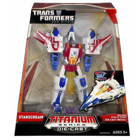 Transformers Titanium Series Starscream Diecast Figure