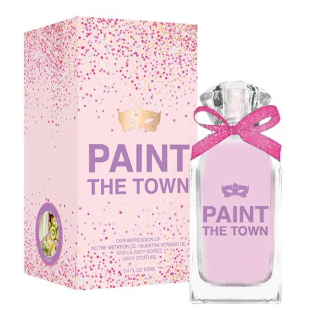 Paint the Town Women by Preferred inspired by VIVA LA JUICY SOIREE This fragrance is crafted by master perfumers using only high quality essential oils normally found in the most expensive designer perfumes and colognes. This is the reason for its long lasting scent. Enjoy a high quality, luxury experience at about a third of the price of a traditional designer Fragrance. This perfume is recognized as being the best alternative to the original