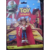 """Toy Story Woody  Bendable 4"""" Figure"""