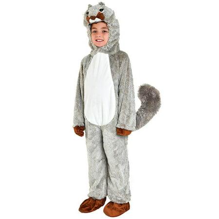 Toddler Squirrel Costume (Toddler Squirrel Costume~Grey / Toddler)