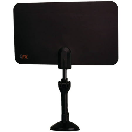 QFX 7 HD/DTV/UHF/VHF/FM Flat Indoor Antenna