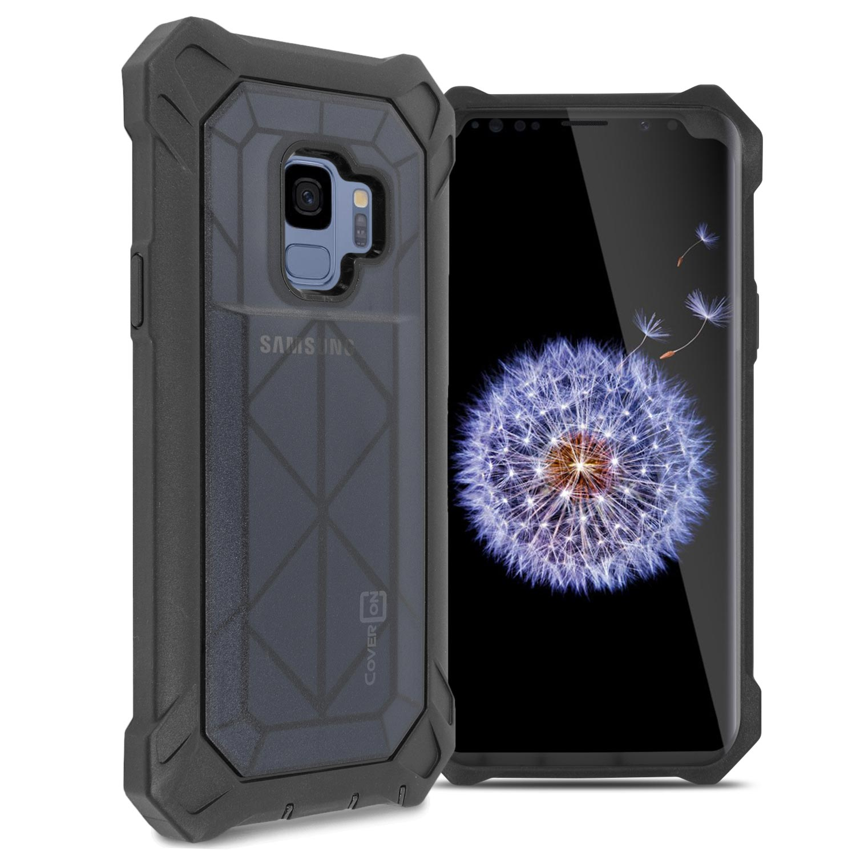 CoverON Samsung Galaxy S9 Case, VitaCase Hard Protective Full Body Heavy Duty Phone Cover