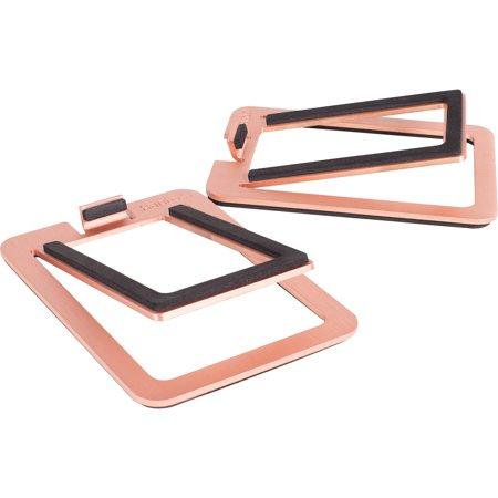 Copper Vanity Stand - S2 Desktop Speaker Stands, Copper