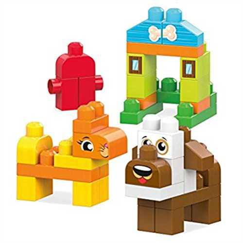 Mega Bloks Lets's Build Pets Building Set by