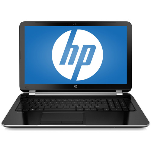 """HP Sparkling Black 15.6"""" Pavilion 15-n019wm Laptop PC with AMD A6-5200 Accelerated Processor, 4GB Memory, 750GB Hard Drive, and Windows 8"""