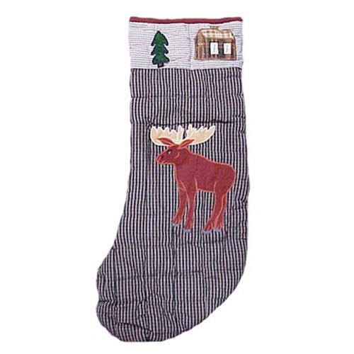 Patch Magic Moose Moose Stocking