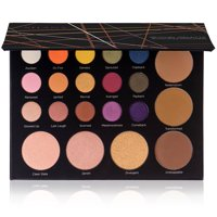 SHANY Revival Palette - 21-Color Eye & Cheek Palette with 15 Matte and Shimmer Eyeshadows, 3 Bronzers and 3 Highlighters