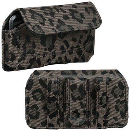 Insten Horizontal Pouch Case (722601) (Coffee Watermark)(NO Package) for APPLE: iPod touch 1st 2nd 3rd 4th (Good Games For Ipod Touch 2nd Gen)