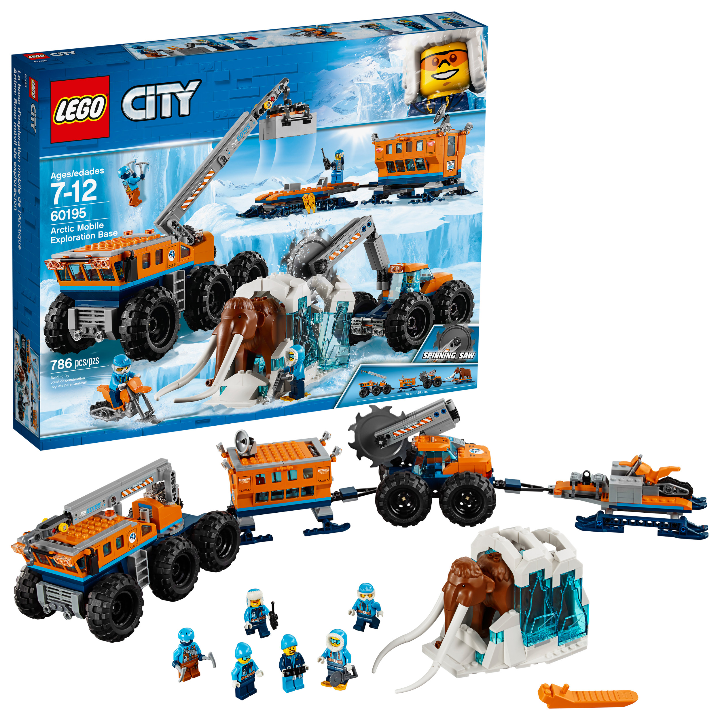 LEGO City Arctic Mobile Exploration Base 60195 (786 Pieces)
