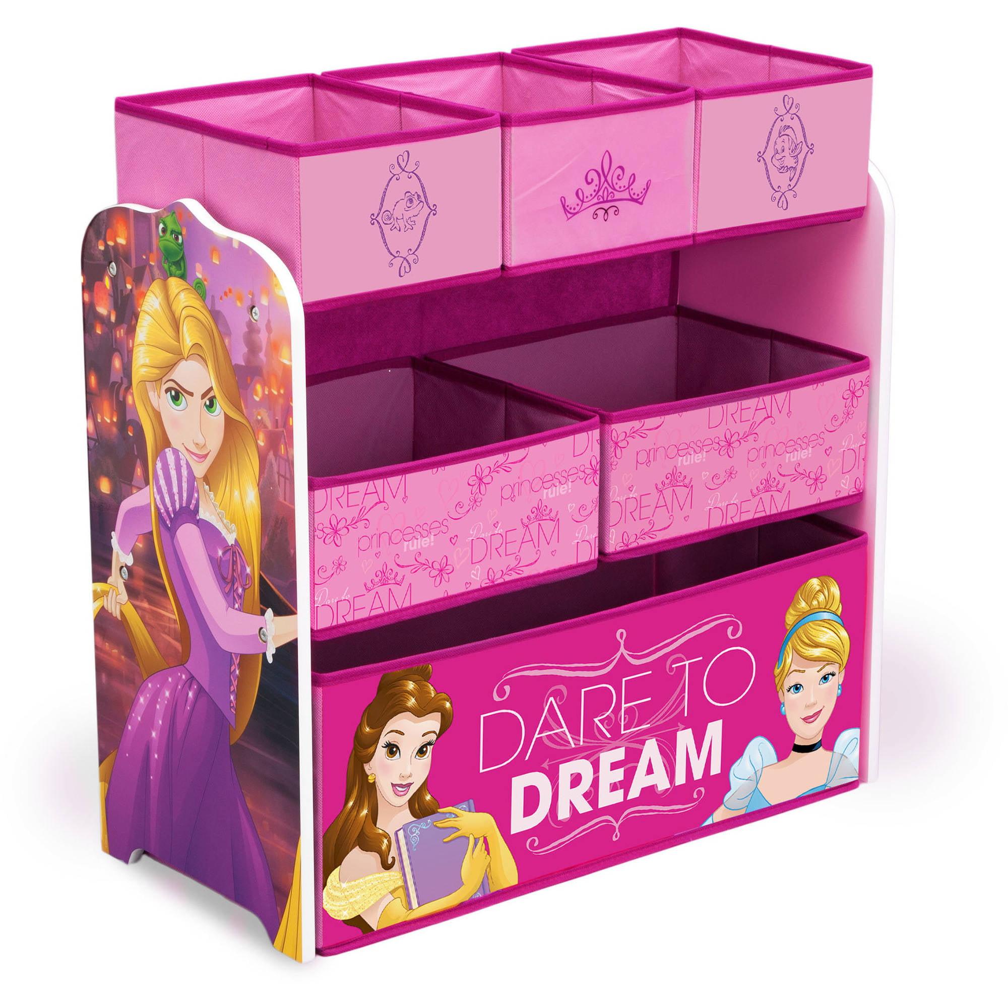Disney Princess Multi Bin Toy Organizer by Delta Children