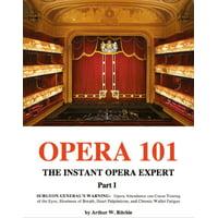 Opera 101 Part I - eBook