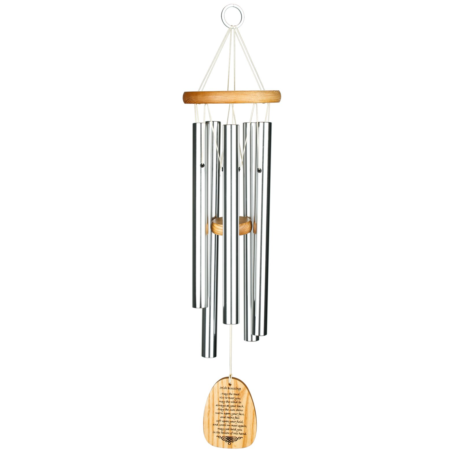 Woodstock 22 in. Reflections Chime with Irish Blessing