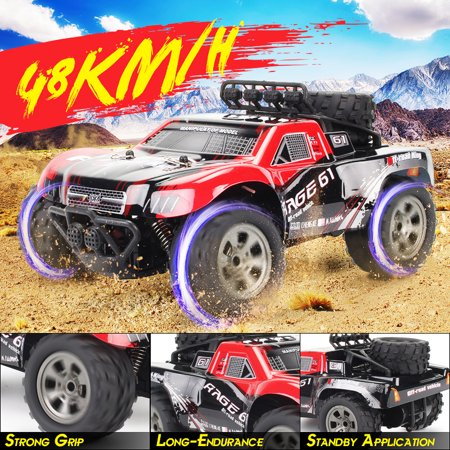 1:18 48 KM/H 2.4GHz Remote Control Car RC Electric Monster Truck Off Road Vehicle Kids