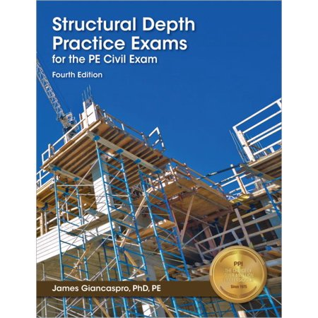 Structural Depth Practice Exams for the PE Civil