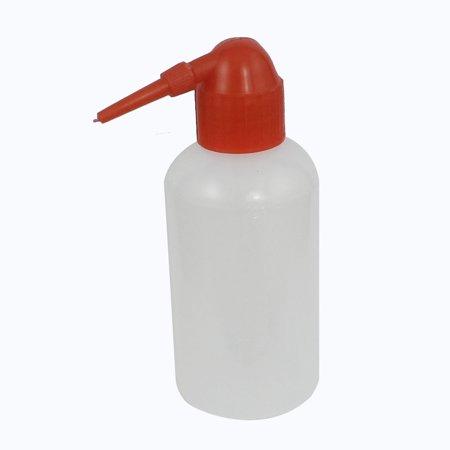 Unique Bargains Unique Bargains Delivery Tube Design Liquids Measure Measuring Bottle Clear White 250ml