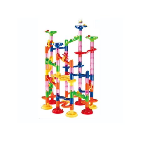 Maggift Marble Runs Toy Set Translucent Marbulous 80