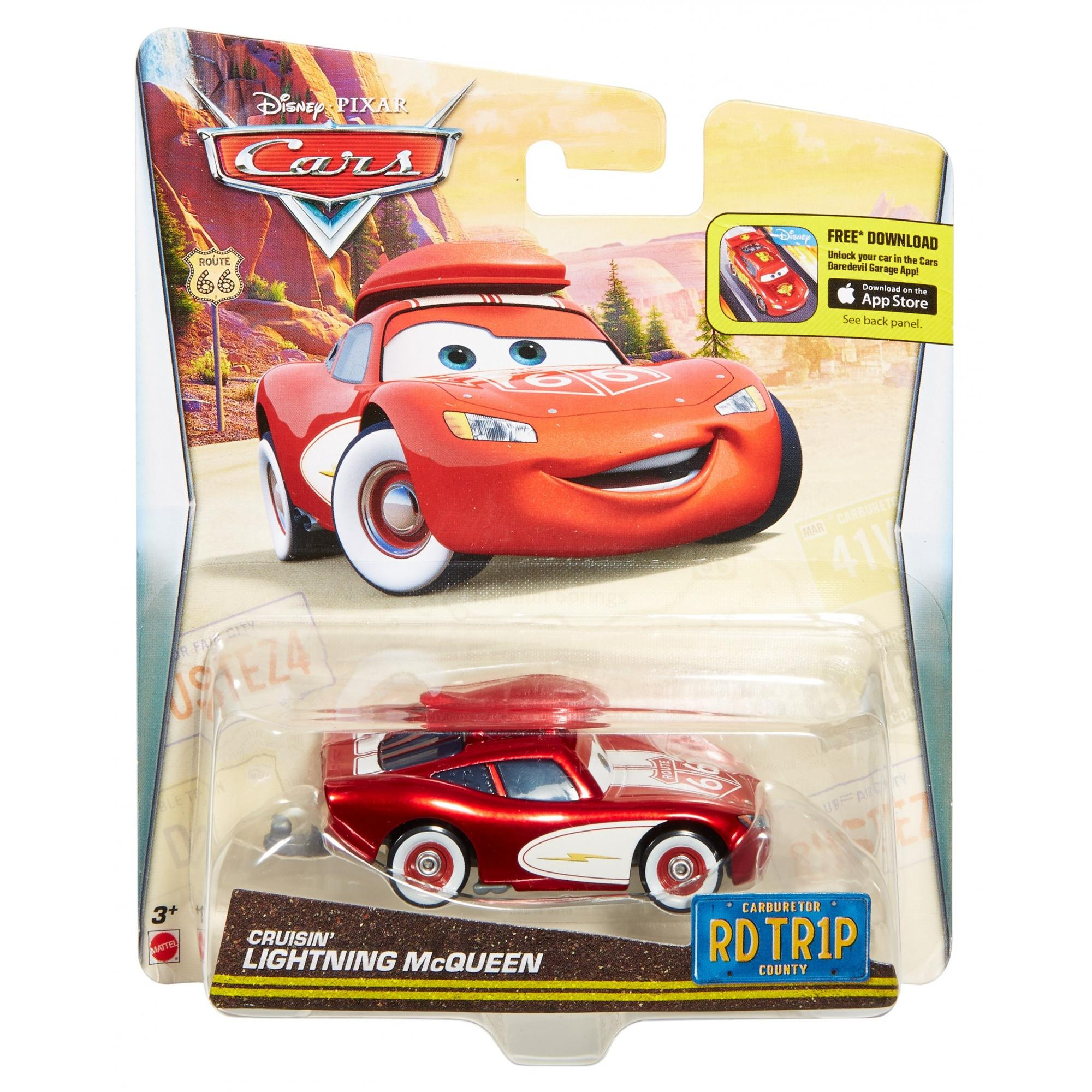 Disney/Pixar Cars Road Trip Cruisin\' Lightning McQueen Die-Cast ...