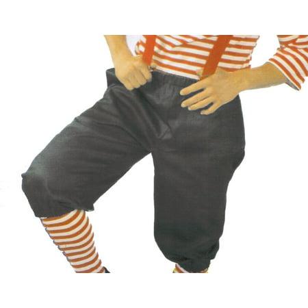 - Black Costume Knicker Pants Large/X-Large
