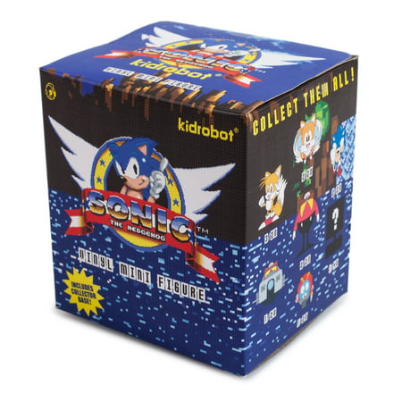 One Blind Box Sonic The Hedgehog Mini Series Vinyl Figure By Sega X Kidrobot](Sonic The Hedgehog Tattoo)