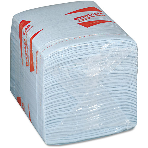 Kimberly-Clark Professional Wypall L40 Quarter-Fold Wiper, 12 Boxes of 56, 672 Wipers Total